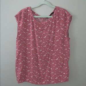 Abercrombie & Fitch pink floral top